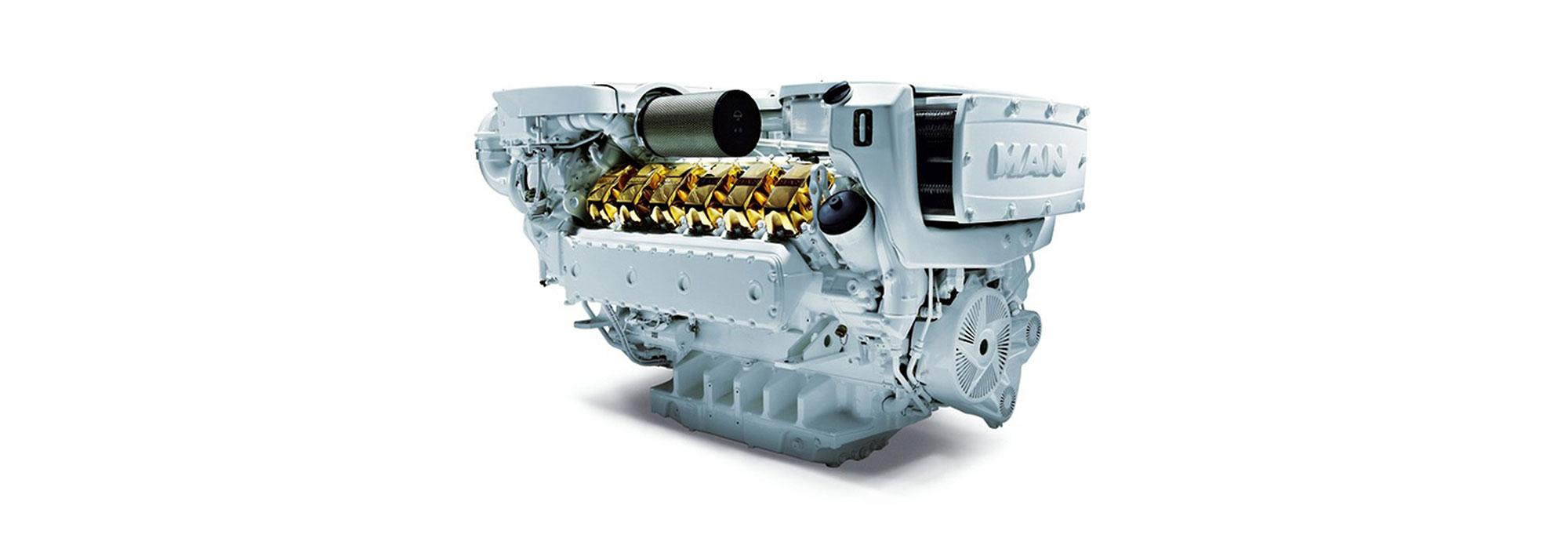 Yacht MAN Engines manufactured by Man Engines are suitable for application to expensive yachts and sport fishing boats