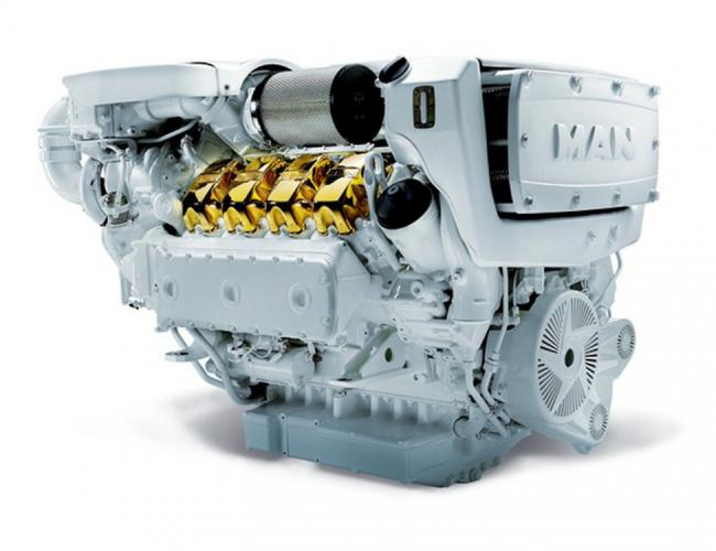 MAN Engines V8-1000 / V8 1200 / V8 1300